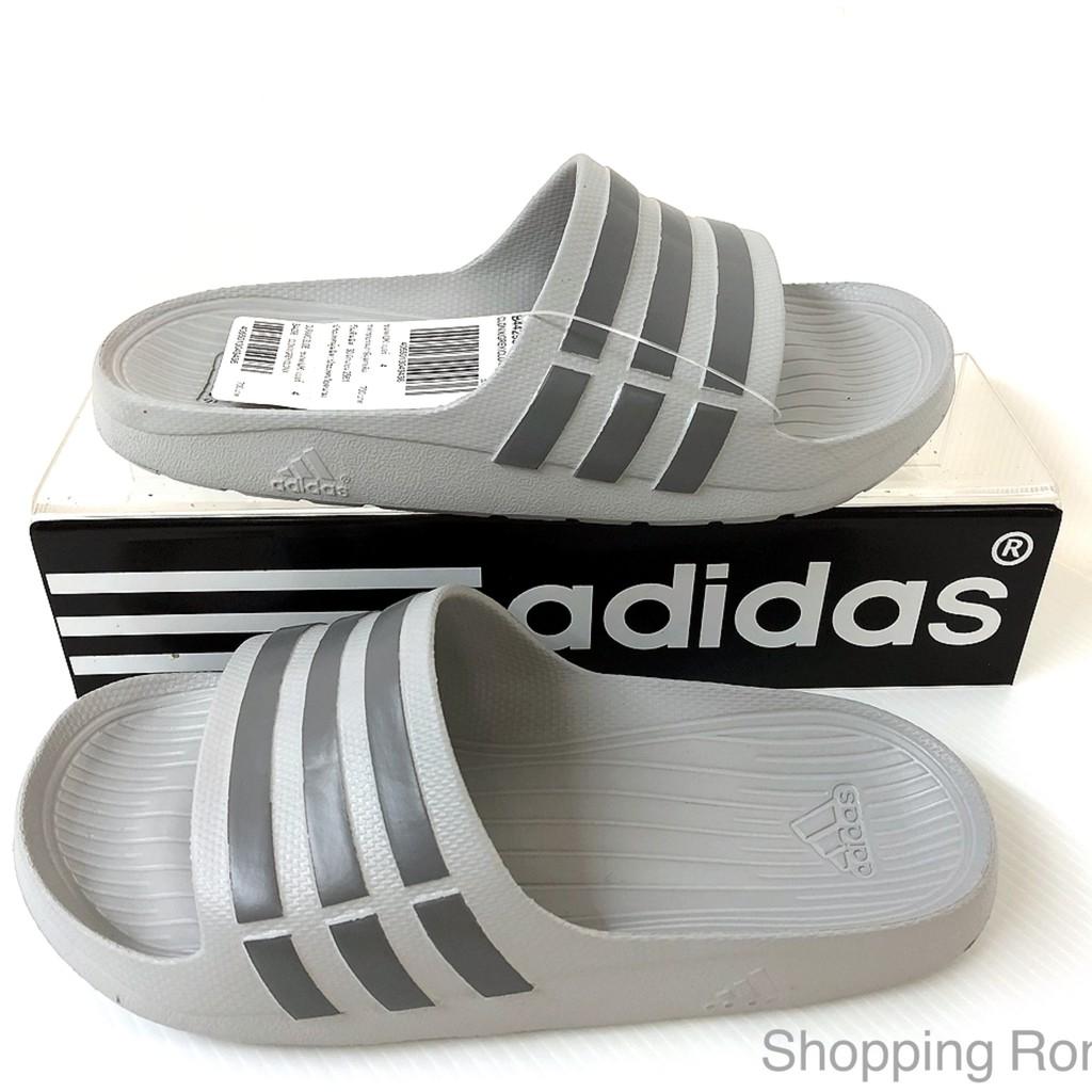 sports shoes 5e285 e652e Adidas Duramo Slide (Gray)  Shopee Thailand