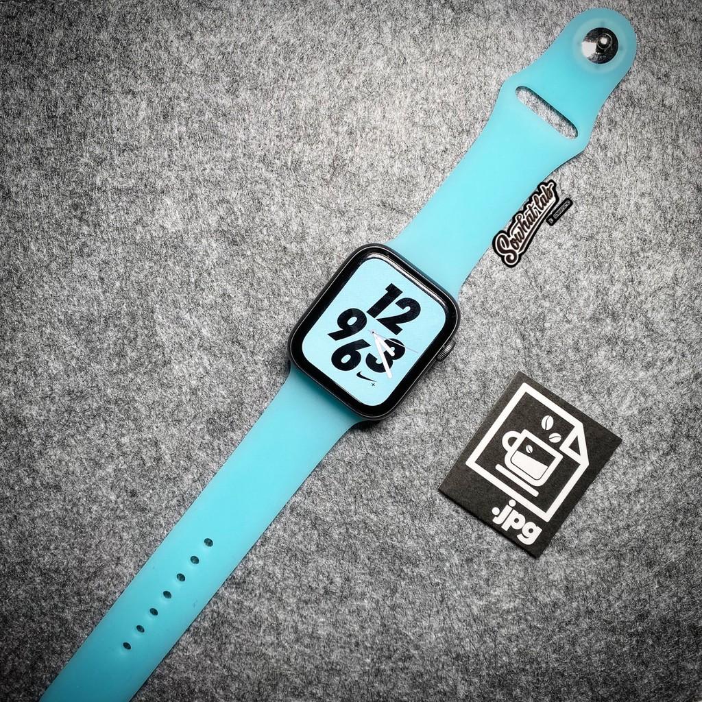 iwatch冰川限定透白babyblue表带Applewatch12345代通用苹果手表