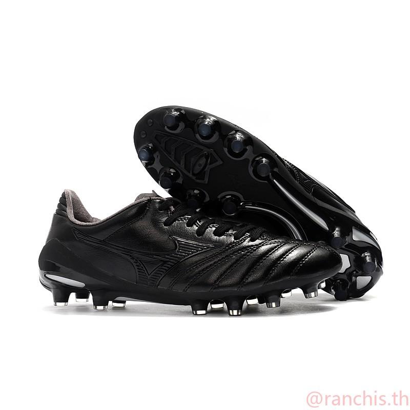 [พร้อมกล่อง] แท้จริง รองเท้าฟุตบอล 39-45 Mizuno Morelia Neo II แดงดำน้ำเงินญี่ปุ่น