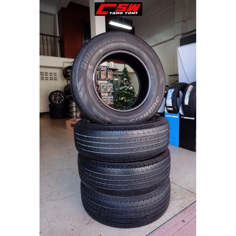 ยางป้ายแดง Bridgestone Duravis 215/70 r15(สัปดาห์20 ปี19) ชุดละ 8,900.-