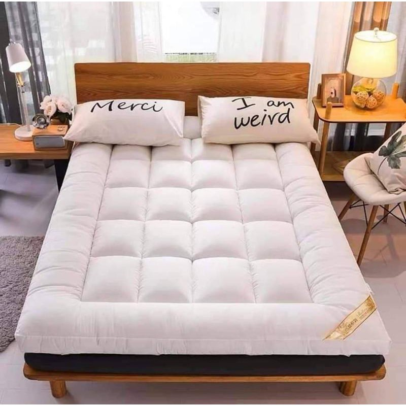 ที่นอน topper topper 5 ฟุต ท็อปเปอร์สีเทา ขนาด 6 ฟุต 5ฟุต และ3.5ฟุต สามารถเลือกขนาดได้