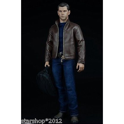 """1//6 Leather Jacket Jeans Boots Set For 12/"""" Male Muscular Figure PHICEN M34 M35"""