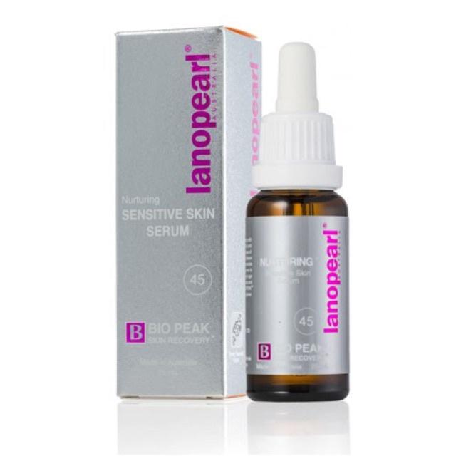 *พร้อมส่ง*เซรั่มรกแกะ หน้าเด็ก&หน้าเด้ง-Lanopearl Nurturing Sensitive Skin Serum with 45%เจลล้างมือ cleansing water sens