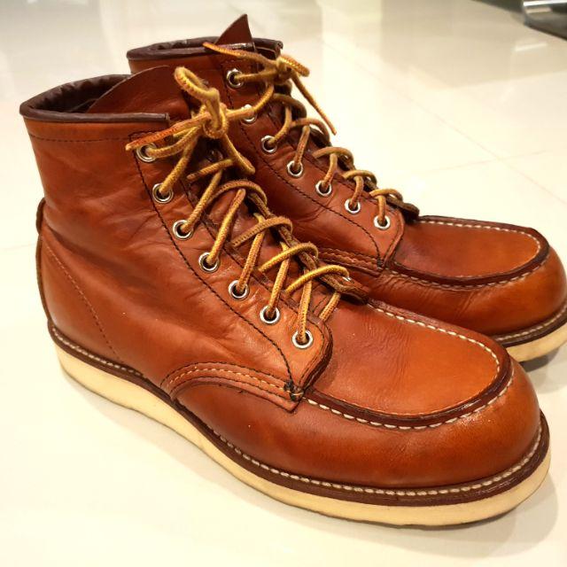RedWing 875 size 8 us รองเท้าบูท แท้.!! [มือสอง]