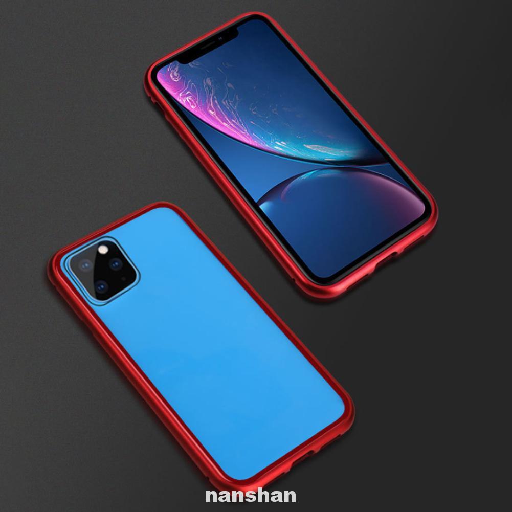 เคสโทรศัพท์มือถือแบบสองด้านสําหรับ Iphone 11pro Max
