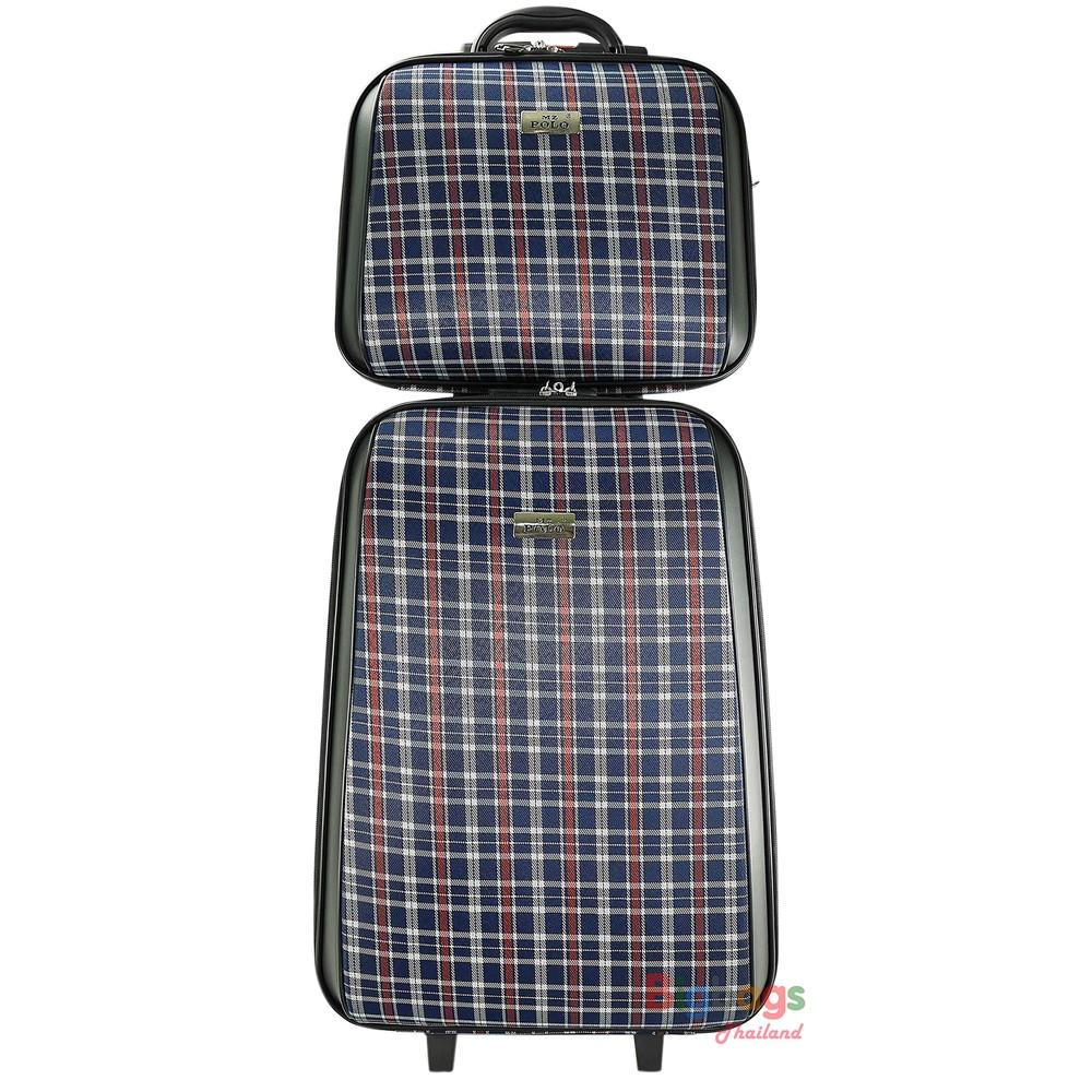 อุปกรณ์จัดเก็บเสื้อผ้า❀◘BigBagsThailand กระเป๋าเดินทาง ล้อลาก MZ Polo เซ็ตคู่ 20 นิ้ว/14 นิ้ว Style France Paris Code FA