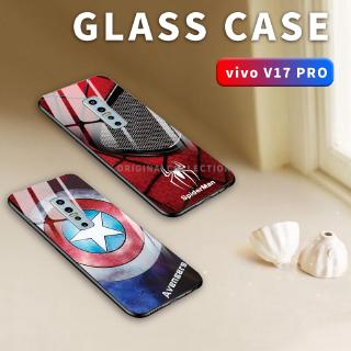 Review Vivo V17 Pro Y17 Y15 Y12 V15 V15 Pro Z1 Pro Y95 Y93 Y91 Y91c Tempered Glass Spiderman Phone Case