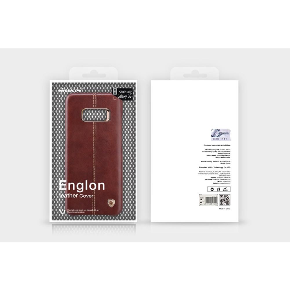 QQ Samsung S8 Plus - เคสหลัง หนัง Nillkin Englon Leather Case แท้