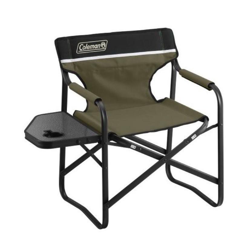Coleman เก้าอี้ รุ่น Side Table Deck Chair สี Olive