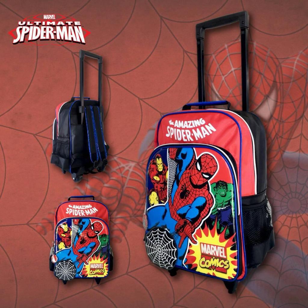 กระเป๋าเดินทางล้อลาก Luggage กระเป๋าเป้มี สะพายหลังกระเป๋านักเรียน 14 นิ้ว Avengers ร กระเป๋าล้อลาก กระเป๋าเดินทางล้อลาก