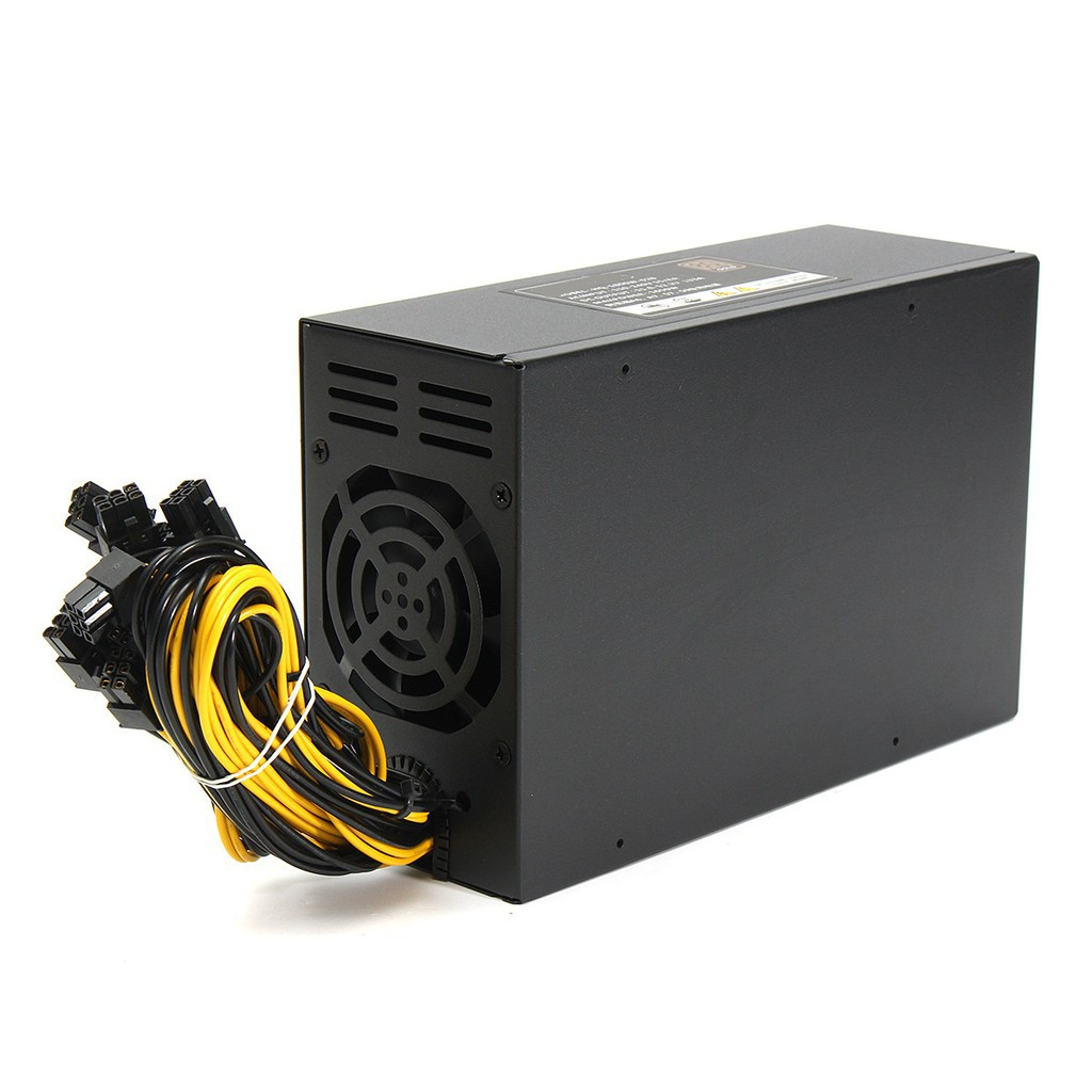2200W PSU Mining power supply for 8GPU BTC PSU ETH Miner active PFC 160-240V