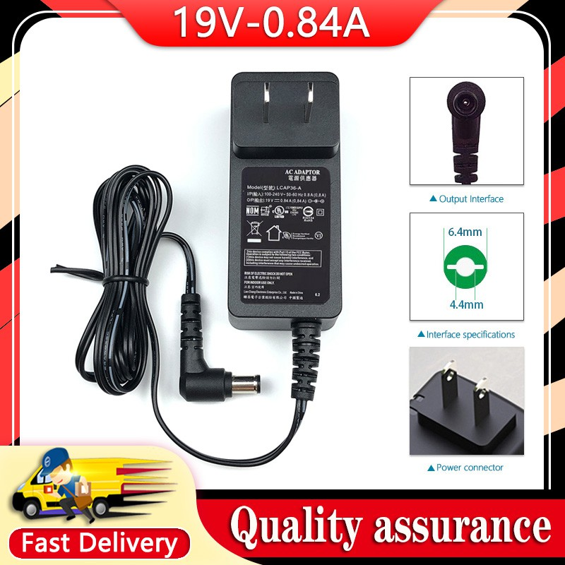 19V 0.84A Adapter For LG ADS-18FSG-19 19016GPCN Monitor Power adapter charger OOrm