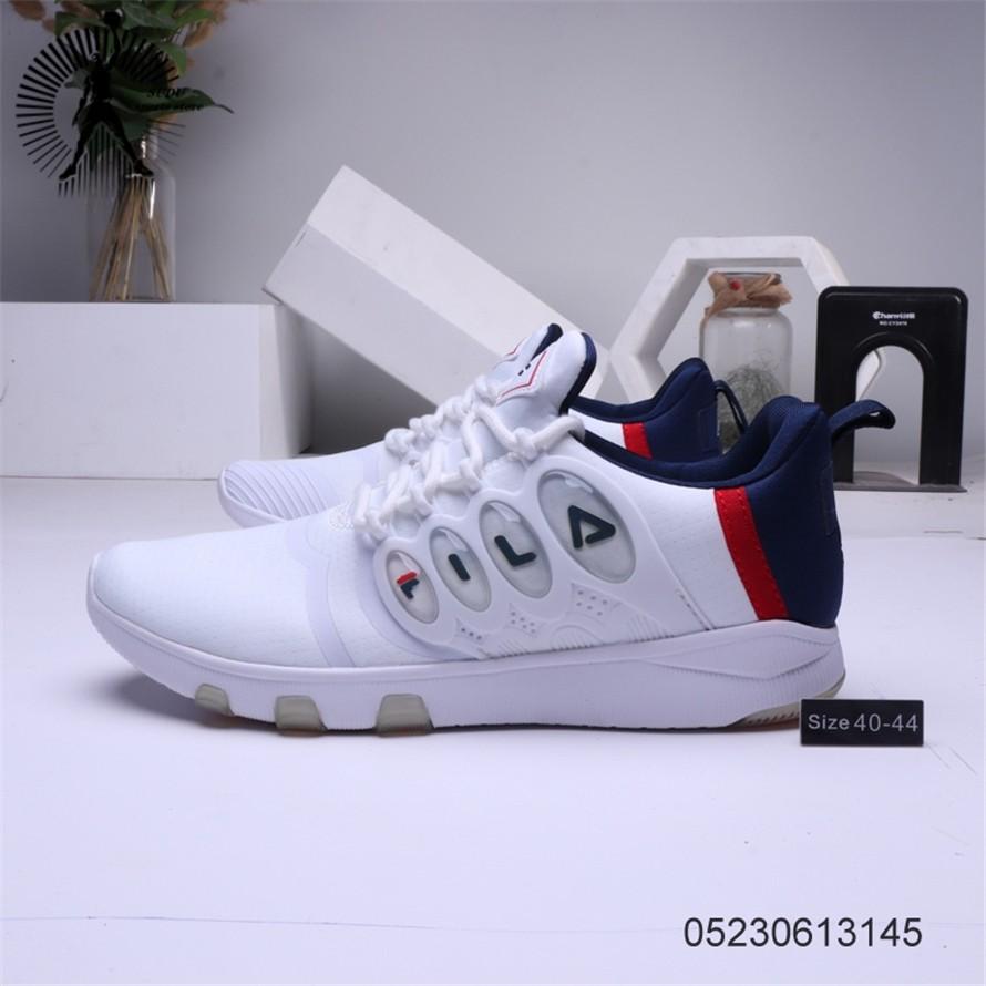 FILA รองเท้าผู้ชายรองเท้าผ้าใบแฟชั่นรองเท้าวิ่ง281