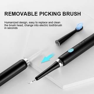 Multifunctional Electric Toothbrush Tooth Scrubber Remove Calculus Tooth Care Tool Ultrasonic Electric Dental Scaler