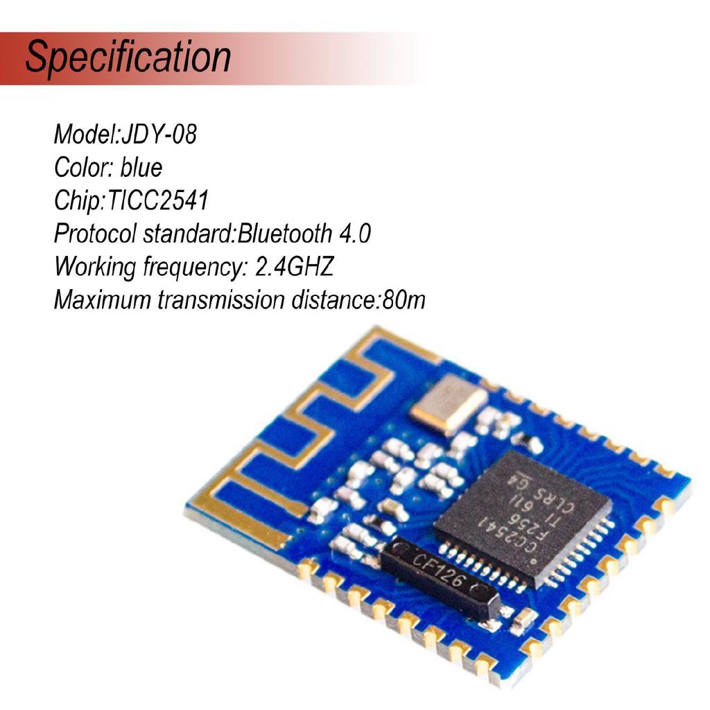 JDY-08 Bluetooth 4 0 CC2541 Module Master-Slave Wireless For Airsync iBeacon