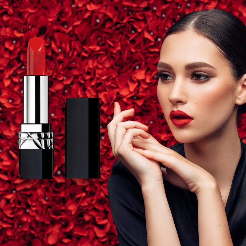 ของแท้แบรนด์ใหญ่ Keno Dior Lipstick 999 Moisturizing Official 999 Matte Lipstick กล่องของขวัญวันครู