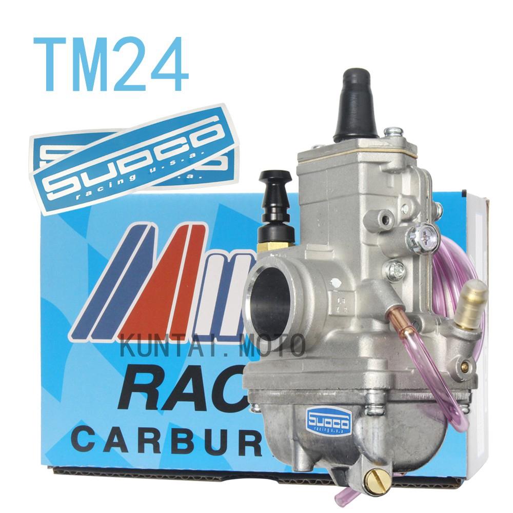คาร์บูเรเตอร์ TM24 TM 24 ตัวแทน คาร์บูเรเตอร์คาร์บูเรเตอร์ Mikuni FlatSlide Smoothbore VM24-418