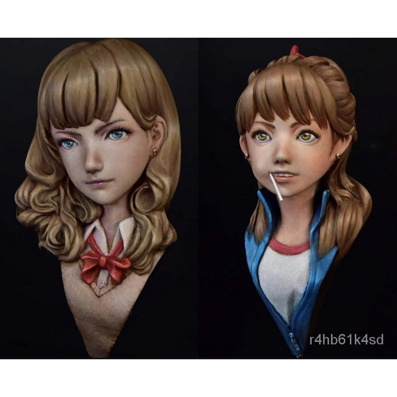 Resin Figure Kit Girl Bust Unainted Garage Resin Model Kit#¥%¥# smfj