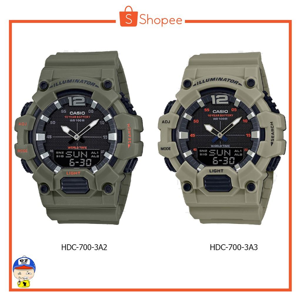 นาฬิกา CASIO รุ่น HDC-700