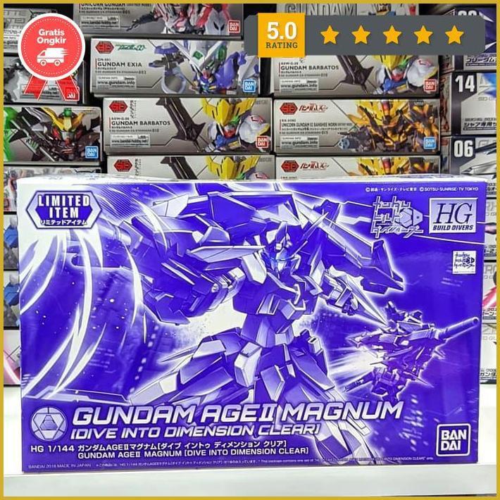 Hg 1 / 144 Gundam Age Ii Magnum ของเล่นสําหรับเด็ก