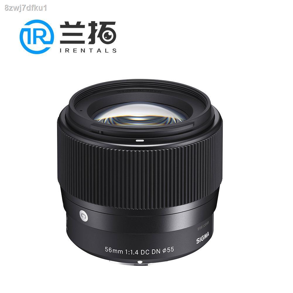 อุปกรณ์เสริมกล้อง✱☊Sigma 56mm F1.4 DC DN Sony ปากเช่าเลนส์ SLR Lanto กล้องเช่า