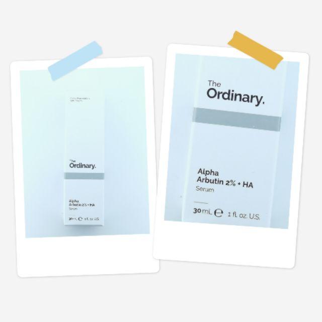 The ordinary - The Ordinary  Alpha Arbutin 2%+HA Serum