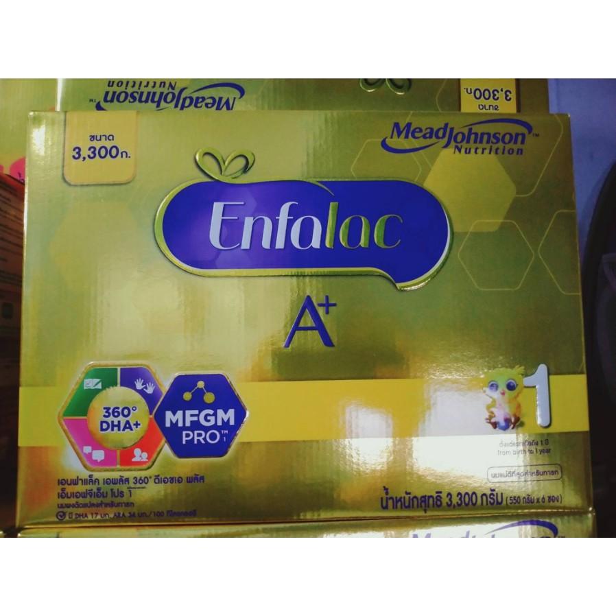Enfalac A+ 1 นมผงเอนฟาแล็ค เอพลัส สูตร1 (3300กรัม)