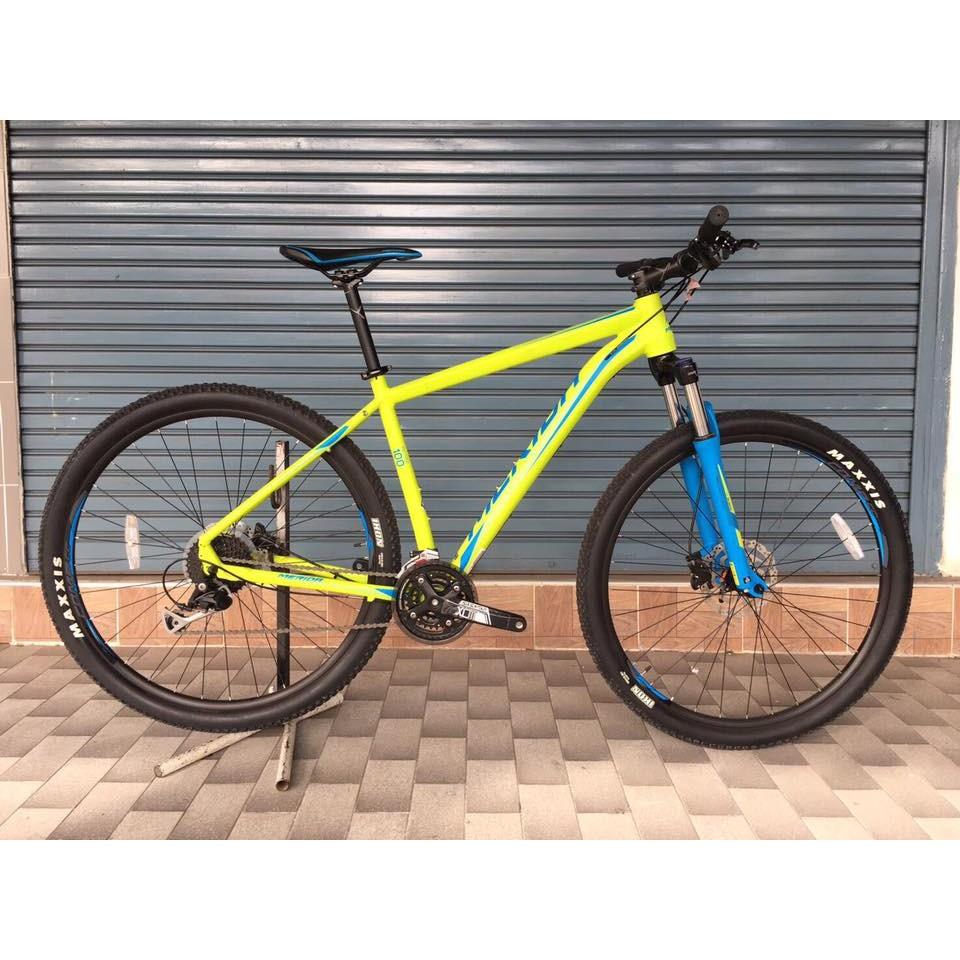 รถจักรยานเสือภูเขา merida big nine 100