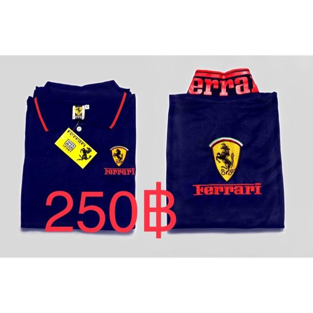 เสื้อโปโล Ferrari