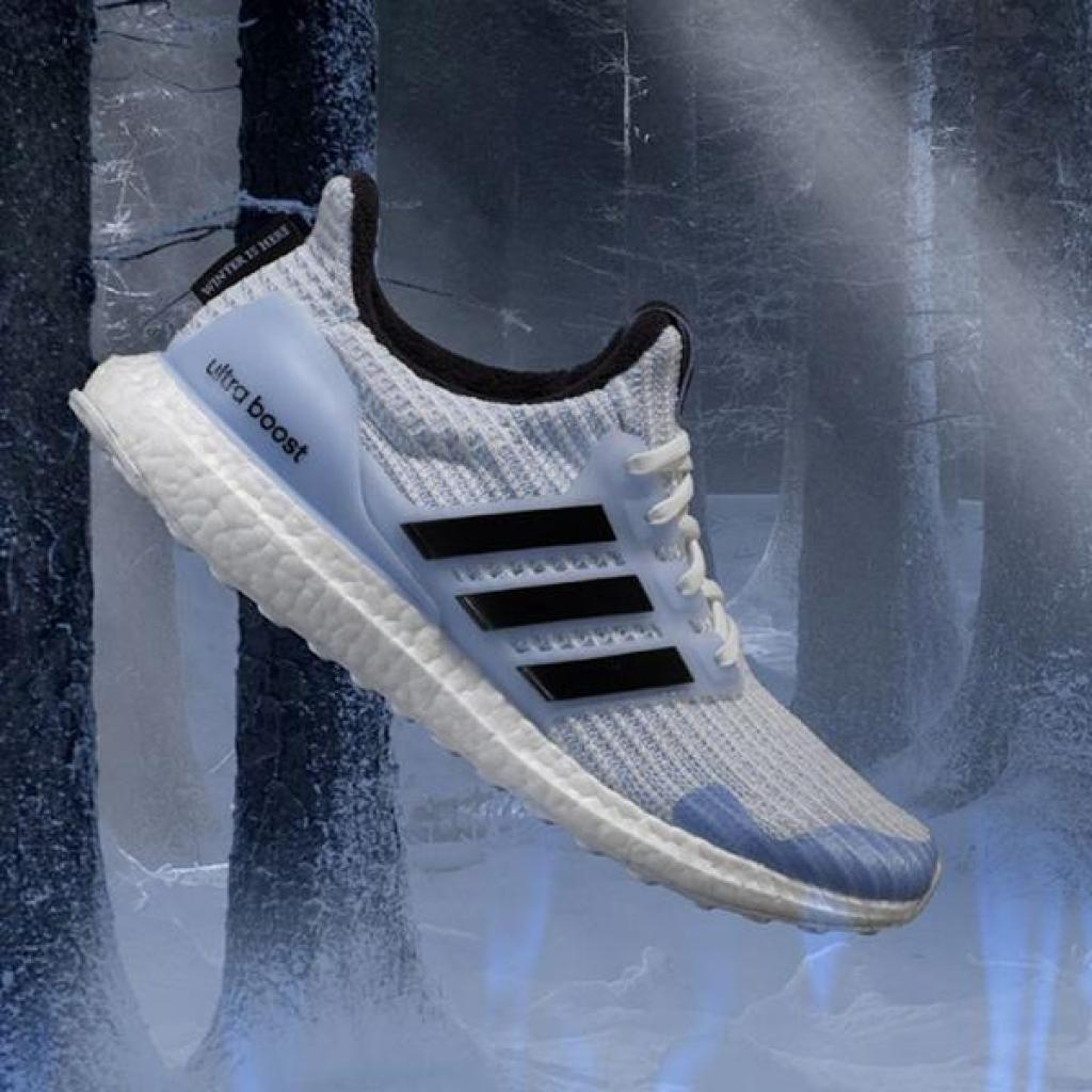 adidas ultra boost game of thrones white walkers