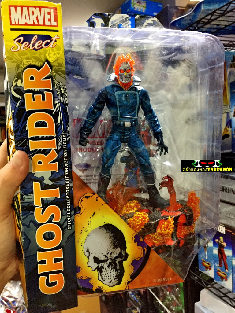 [18.08] DST Marvel Select Ghost Rider Action Figure