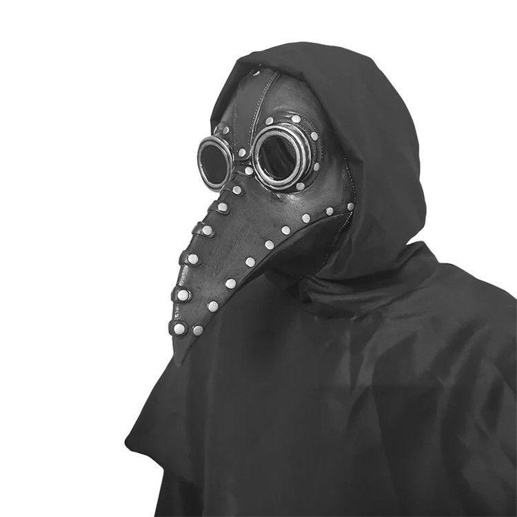 หน้ากาก ฮาโลวีนCOSเสื้อผ้าอบไอน้ำพังก์ยุคกลางอุณหภูมิตัวเมียแพทย์จะงอยปากหน้ากาก SCP049สีดำอีกาหมวก kEmE