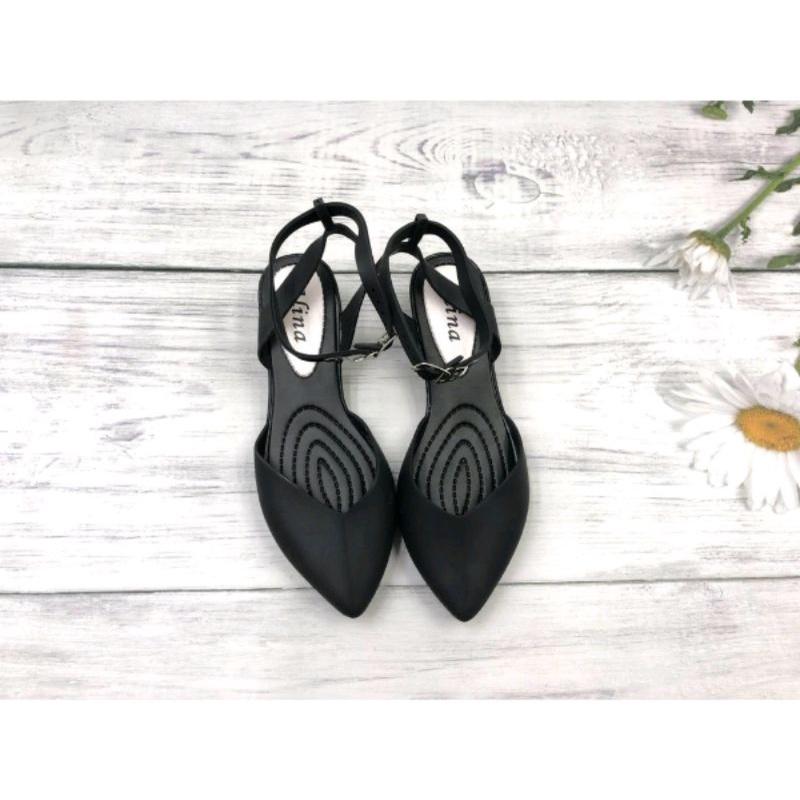 721294 รองเท้าคัชชูแบบรัดส้น รุ่นซิลลิโคน สำหรับผู้หญิง No.36