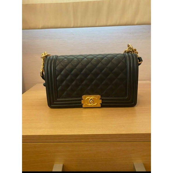 """Chanel boy 10"""" (used like new) limited"""