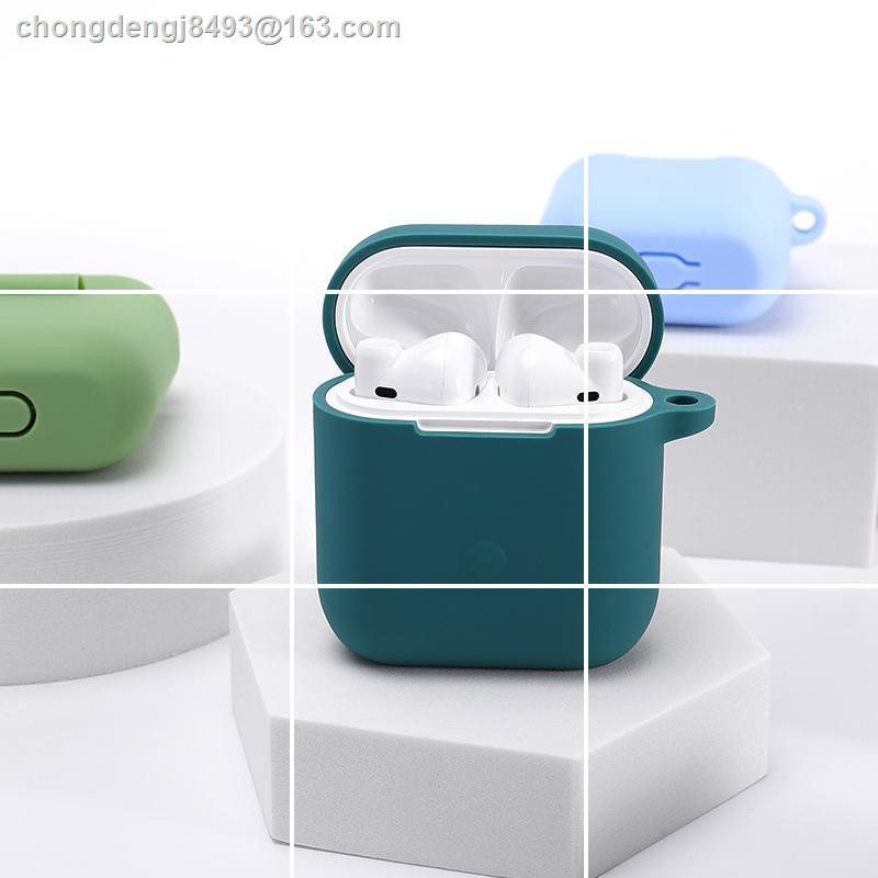 Bluetooth headset protective caseเคสป้องกันชุดหูฟังบลูทู ธ◑◑QCYT8s หูฟังบลูทู ธ ไร้สายแท้ t8 ฝาครอบป้องกัน QCYT5S แฟชั่