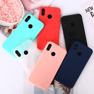 Review Huawei Honor 9 Lite 10 8X V10 P Smart 2019 Y5 Y6 Y7 Y9 2018 Candy Color Matte Skin Soft TPU Silicon Case Cover