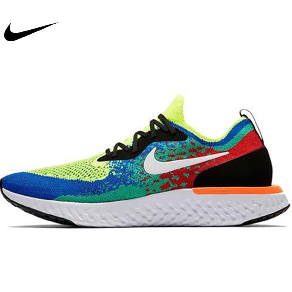 2edb274896 ต้นฉบับ Nike Air Max 270 Flyknit Half Palm Air Cushioning Cushioning  รองเท้าวิ่ง 3 สี | Shopee Thailand