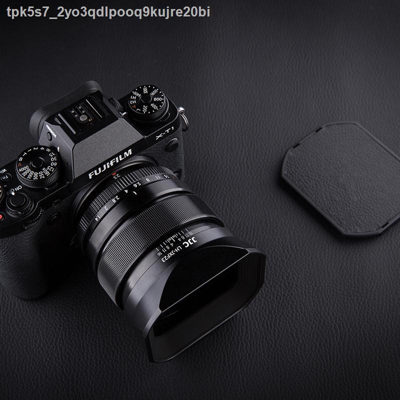 อุปกรณ์เสริมกล้อง○☾✇JJC ใช้ Fuji LH-XF23 เลนส์ฮูด XF 23mm f1.4 R เลนส์ 56mm F1.2R / XF56mm F1.2 APD กล้อง XT30 XT3 โลห