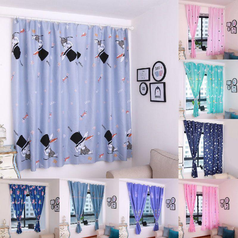 ผ้าม่านประตู ผ้าม่านหน้าต่าง (ผ้าหนา) กว้าง 1.0 X สูง 2.15 เมตร ผ้าม่านสำเร็จรูป ม่านตาไก่ หน้าต่าง ประตู ผ้ากันUV กันแดด