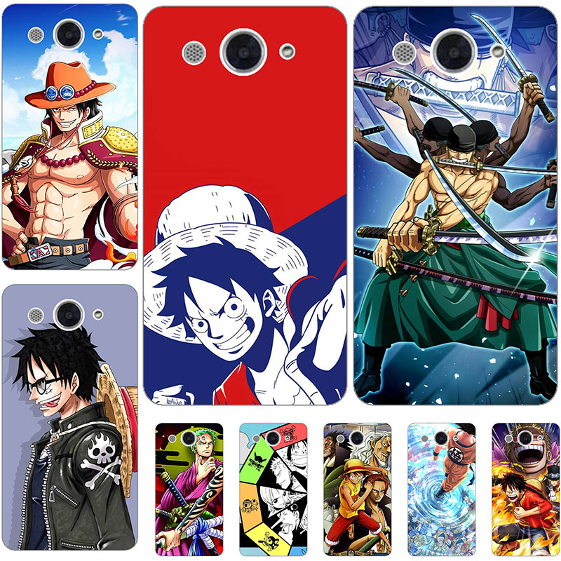 """เคสโทรศัพท์มือถือลายการ์ตูน One Piece สําหรับ Huawei Y3 2018 Y3 2017 Huawei Y5 Lite 2017 Cro - L22 Cro - L03 Cro - L23 Cro - L 00 5 . 0 """""""
