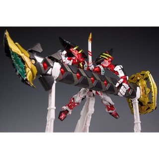 Review MG 1/100 (8814) Red Frame Powered Arms w/ Gerbera Sword (Metal Build Ver.) [Daban]