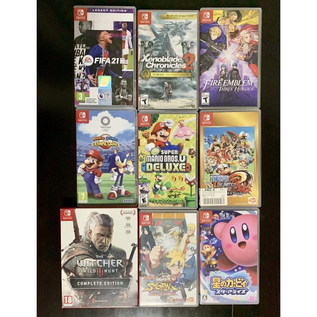 ♝❁♤(มีส่วนลดเพิ่ม10%)แผ่นเกมส์ Nintendo switch มือ1และมือสองมือ2 เกมส์Nintendoswitch gameมือ2 แผ่นNintendoswitchมือ1และ