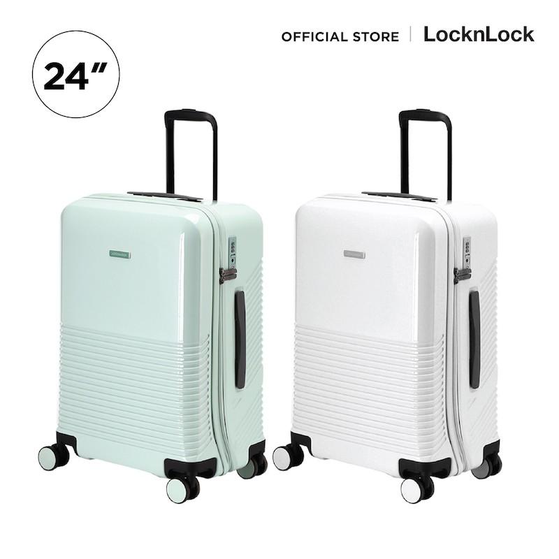 LocknLock กระเป๋าเดินทาง UNBALANCE CARRIER ABS 24 นิ้ว รุ่น LTZ902
