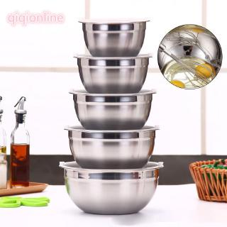 Stainless Steel Bowl Mixing Serving Bowl For Salad Batter Baking Soup Bowl Kid