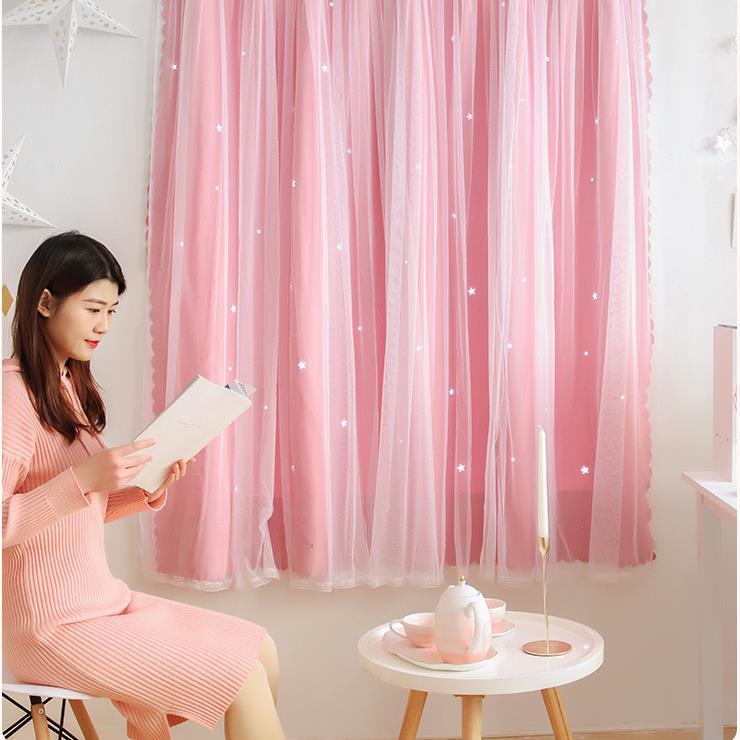 ผ้าม่านสำเร็จรูปผ้าบังแดดหน้าต่างเบย์ห้องนอนผ้าม่านตีนตุ๊กแกสำหรับเช่าห้องนอน