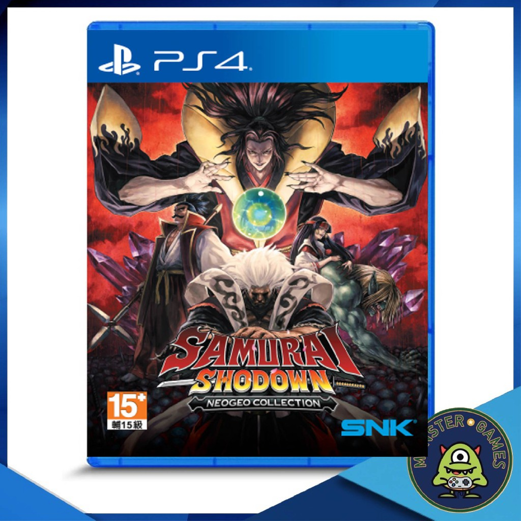 Samurai Shodown NEOGEO Collection Ps4 แผ่นแท้มือ1!! (Ps4 games)(Ps4 game)(เกมส์ Ps.4)(แผ่นเกมส์Ps4)(Samurai Shodown Ps4)