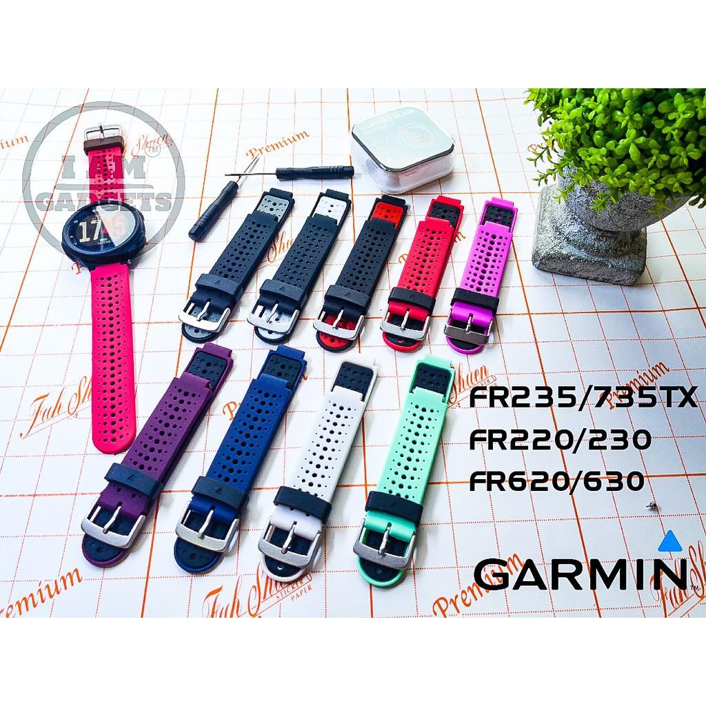 สาย applewatch แท้ สาย applewatch 🔥พร้อมส่ง🔥สาย Garmin Forrunner 220/230/235/620/630/735TX