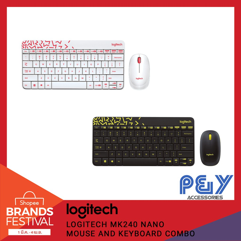 Logitech MK240 NANO Mouse and Keyboard Combo
