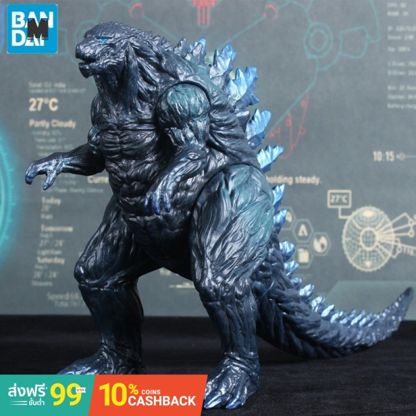 (In Stock)BANDAI Godzilla  2021 Movie Version Garage Kit Large  Dinosaur Monster Movable  PVC Action Figure Collectible