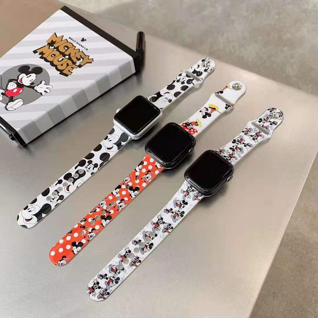 IMD005 กาวอ่อน apple watch Strap iwatch series SE 6 5 4 3 2 1 สาย applewatch ความยาว 38 40 42 44mm